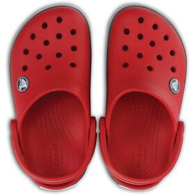 Crocs Crocband Clogs Kinder pepper/graphite